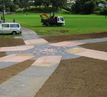 Decorative concrete, drives, paths and kerbs